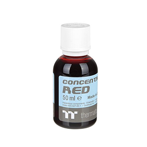 Thermaltake TT Premium Transparent Concentrate Dye 50ml Red CL-W163-OS00RE-A