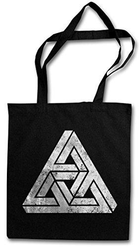 Urban Backwoods Penrose Logo Sign III Hipster Bag Beutel Stofftasche Einkaufstasche