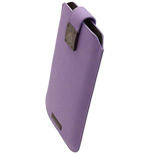 Commander Tasche Milano XXL5.0 Fleure Violett Lizenzprodukt + Reinigungstuch iMoBi