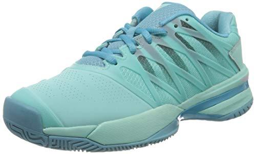 K-Swiss Performance dames Ultrashot 2 tennisschoenen, blauw (Aruba Blue/Malibu Blue/Soft Neon Pink 435), 38 EU