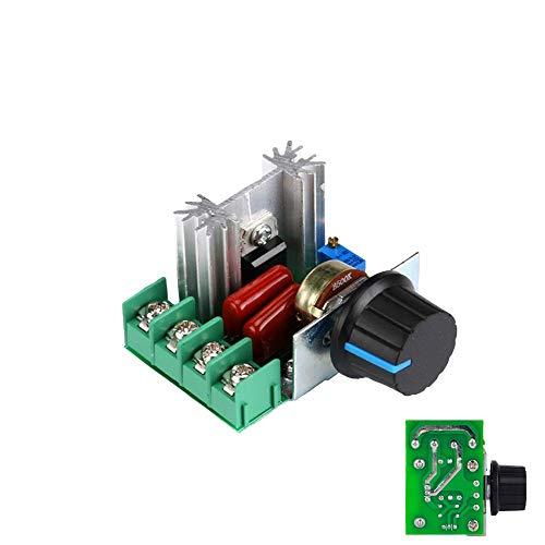 1neiSmartech Regler-Leistung Motor Dimmer Geschwindigkeit 'Lã¼Fter Elektrische Spannung 200V 2000W Intensitã¤T'-Einstellung Thermostat Ausgang Variable Basteln