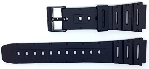 Genuine Casio Replacement Watch Strap 71604130 for Casio Watch CA-53W-1SW + Other Models