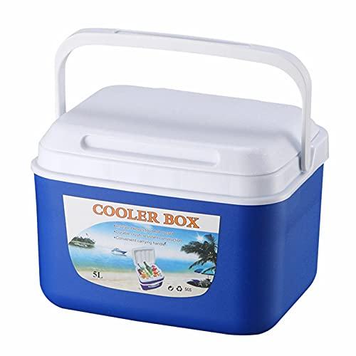 Bolsa Nevera 5L, Caja de Enfriamiento Portátil para Acampar Al Aire Libre de Caja de Almacenamiento de Alimentos Portátil Caja de Enfriamiento para Viajes