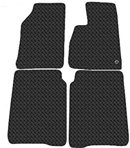 Jeep Cherokee 2002 Onwards Tailored Rubber Car Mats