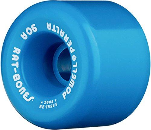 Powell Rat Bones Blue (90a) 60mm Skateboard Wheels (Set Of 4)
