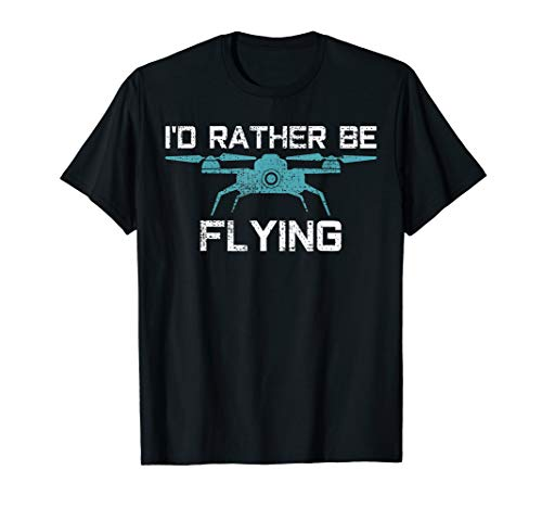 Drone Flying Gift Vintage Pilot Gift T-Shirt