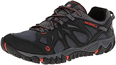 Merrell Men's All Out Blaze Aero Sport Hiking Water Shoe, Black/Red, 14 M US