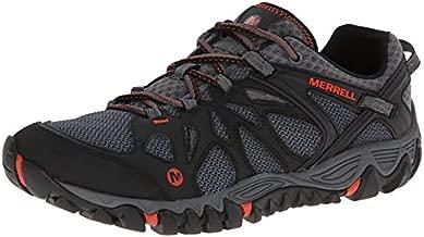 Merrell Men's All Out Blaze Aero Sport Hiking Water Shoe, Black/Red, 12 M US