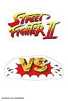 dune ストリートファイターⅡ 【VS&ロゴ】 はがきサイズ ステッカー