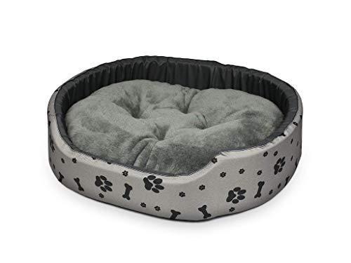 Dogcatbeds 2 in 1 Das Beste Hundebett für Hunde und Katzen Schlafplatz Hundekissen Hundebett Hundesofa Couch bequemes, gemütliches Kissen für Haustiere Kissen S, M, L, XL, XXL (S) 45x40x14cm