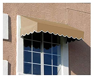 Awntech 4-Feet San Francisco Window/Entry Awning, 18 by 36-Inch