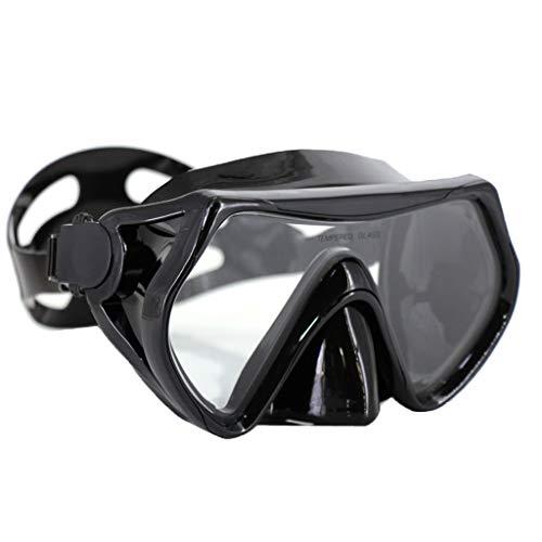 MagiDeal Máscara de Buceo Antivaho para Adultos Gafas de Buceo con Escafandra Autónoma con Estuche de Almacenamiento