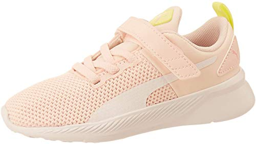 PUMA Flyer Runner V Inf Zapatillas, Pink (Rosewater White-Sunny Lime-Peony Black), 21 EU