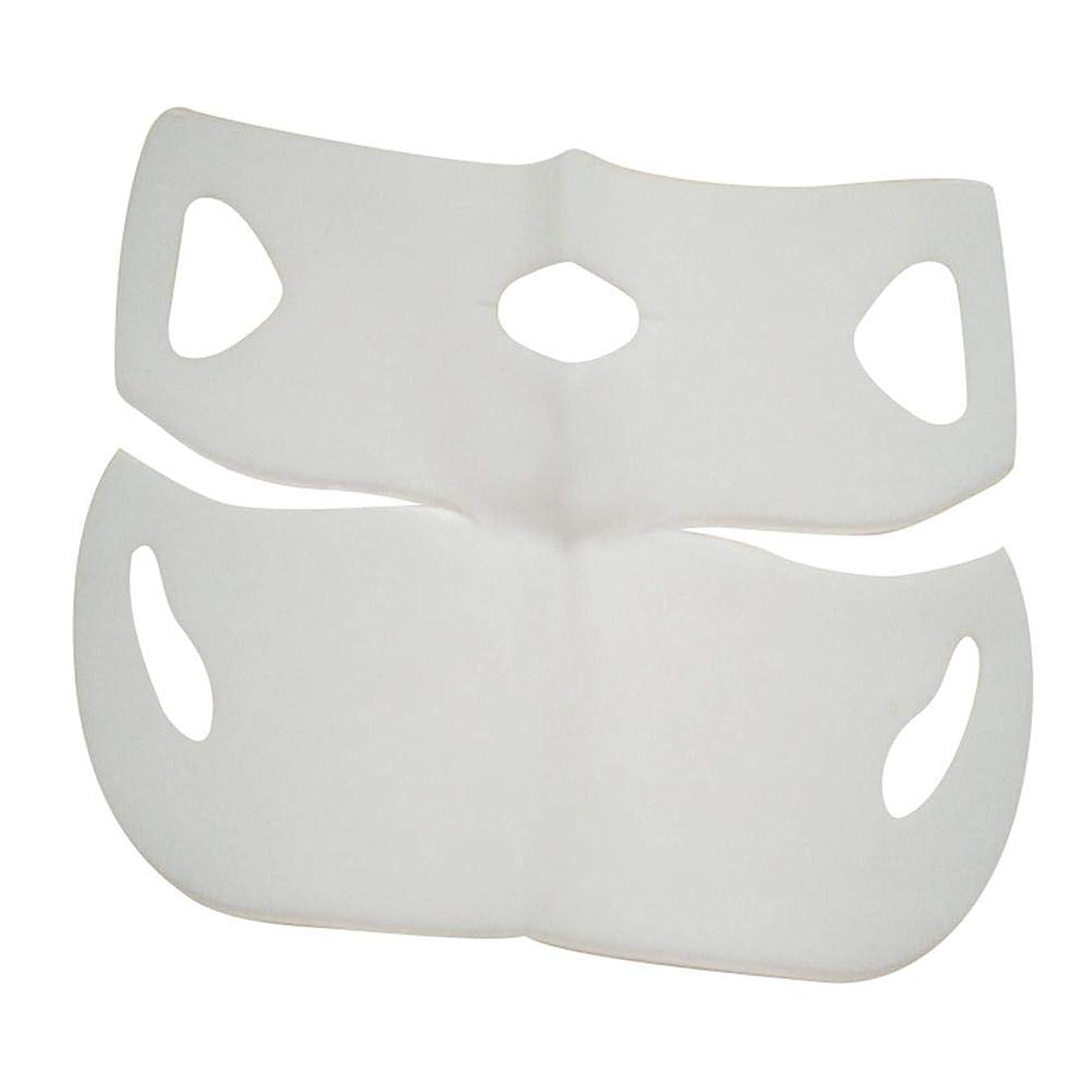 テクニカル可塑性賄賂SILUN 最新型 4D Vフェイシャルマスク フェイスマスク 小顔 マスク フェイスラインベルト 美顔 顔痩せ 肌ケア 保湿 毛細血管収縮 睡眠マスク