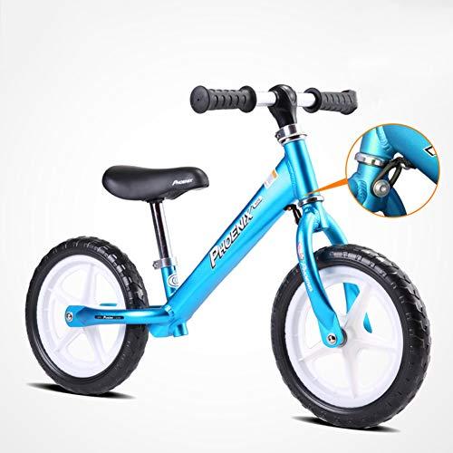 AMYDREAMSTORE Ni?os Bicicleta sin Pedales para la Edad de 18 Meses a 6 a?os, Ni?os Bicicleta de Equilibrio Bebé yo Scooter Ni?o ni?o Deslice la Bici a pie Sin Pedal-G 50x85cm(20x33inch)