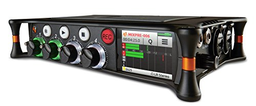 Sound Devices MixPre-6 Portable Multichannel Audio Recorder/Mixer, and USB Audio Interface