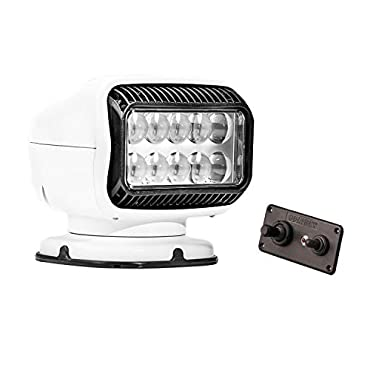 Golight 20204GT Radioray LED Searchlight with Hardwired Dash-Mount Remote-White
