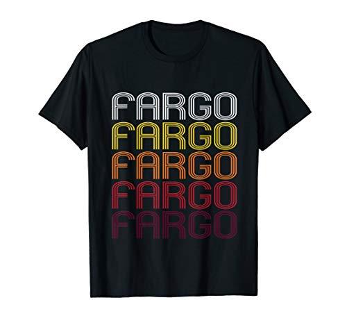 Fargo, ND   Vintage Style North Dakota T-shirt