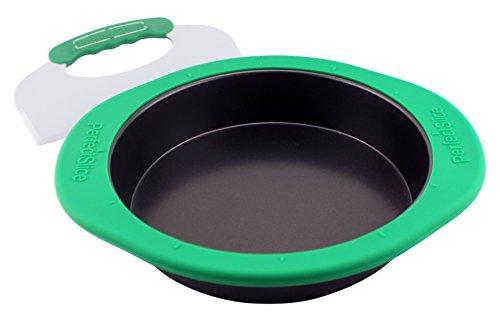 BergHOFF Perfect Slice Runde Kuchenform mit Silikonhülle und Werkzeug, Grau
