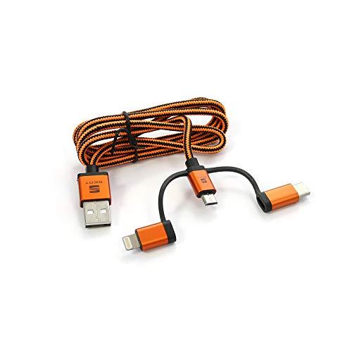 SEAT 000051444AM Datos USB MFI Cable de Carga