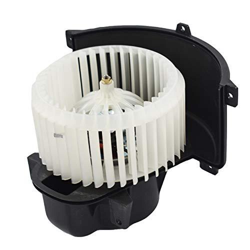 AISENPARTS Motor de ventilador de calefacción de aire acondicionado con jaula de ventilador delantera 7L0820021Q de repuesto para Touareg Q7 Cayenne 7L0820021L