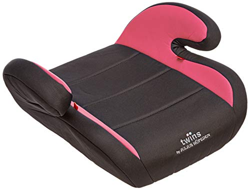 Twins Autositzerhöhung, Gruppe 2/3, ab 3,5 bis 12 Jahre, rosa
