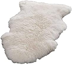 King Queen Fur Artificial Sheepskin Rug, 60 x 90 cm