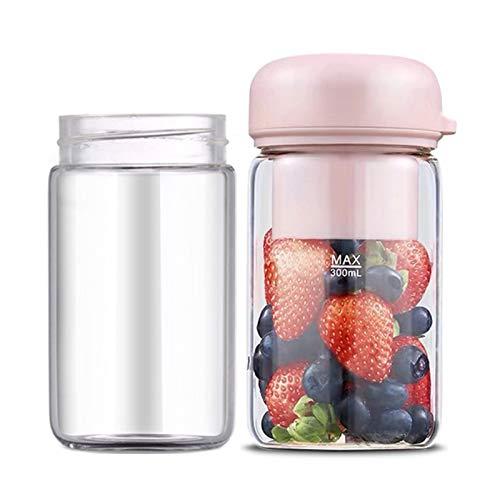 NBSY Exprimidor de frutas, licuadora, taza de exprimidor; pequeño y fácil de llevar, puedes exprimir una variedad de frutas, hacer batidos de postre o jugos y complementar la nutrición.