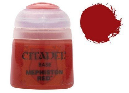 Citadel Base: Mephiston Red by Games Workshop (English Manual)