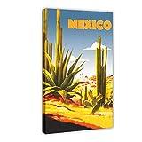 Mexiko-Leinwand-Poster, Wandkunst, Deko, Bild, Gemälde
