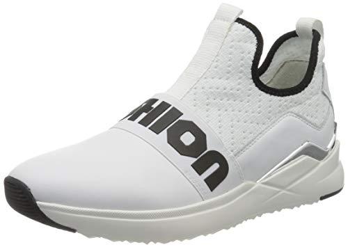 Gabor Damen Jollys 43.481 Sneaker, Weiß (Weiss/Schwarz 21), 39 EU