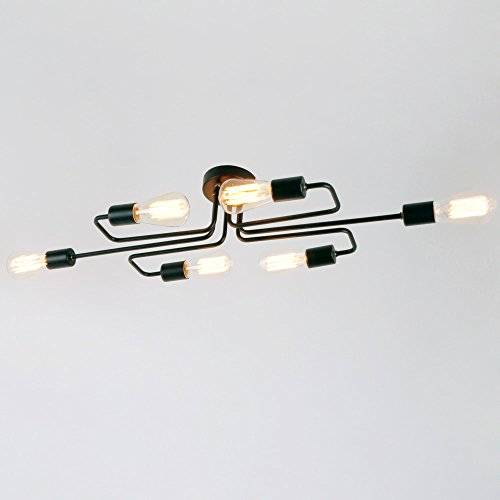 LightInTheBox 60W Flush Mount Modern/Contemporary LED Chandeliers Vintage/Retro/Country Painting Feature Ceiling Lighting Fixture