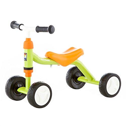 Kettler Rutschfahrzeug Sliddy green – Rutscher für Jungs und Mädchen ab 18 Monaten - der mitwachsende Kinderrutscher – verstellbarer Sitz – grün