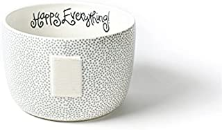 HAPPY EVERYTHING! Stone Small Dot Big Bowl