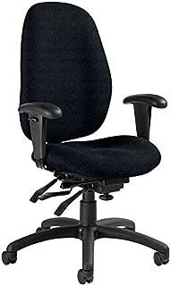 Global Malaga Multi-Tilter Fabric High-Back Executive Office Chair