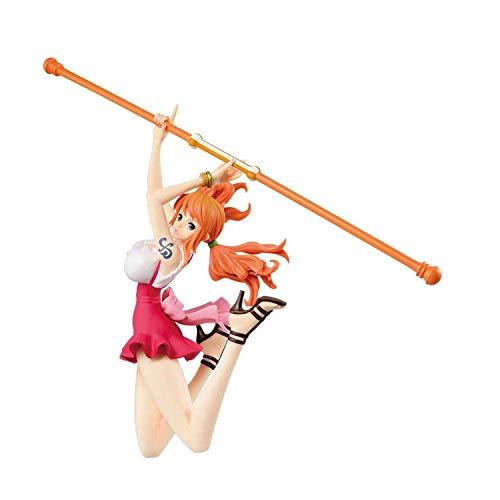 Khosd One Piece Figura Nami Adulto Figura PVC Animado Modelo Juegos Animado Muñeca Adornos Animado Figura, Alto 25cm