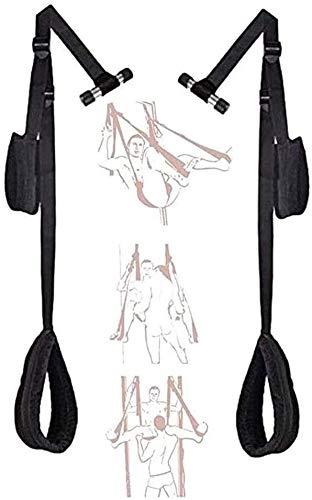 B-D-S-M Práctica de Yoga giratorias Seis ? ? w ng Kit del Sistema, AD ? ? lt T ys estafadores Correas Ajustables y de Nylon Fuerte con Capacidad hasta 300 lbs