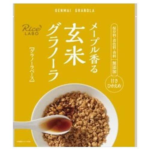 幸福米穀 メープル香る玄米グラノーラ (グラノーラベース) 250g×15袋入