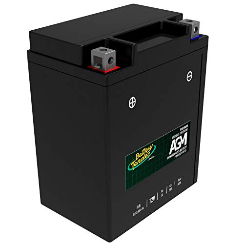 Battery Tender AGM Motorcycle Battery: Absorbent Glass Mat Battery for Motorcycles, ATVs, UTVs, and More - High Performance 12V 14aH 230 CCA Powersports Engine Start Battery - BTX14AH-FA
