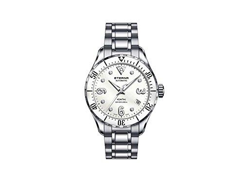 Eterna Lady KonTiki Diver, Automatik Uhr, SW 200-1, 38mm, Special Edition