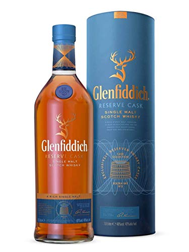 Glenfiddich RESERVE CASK Cask Collection Single Malt Scotch Whisky Travel Exclusive 40% - 1000ml in Giftbox