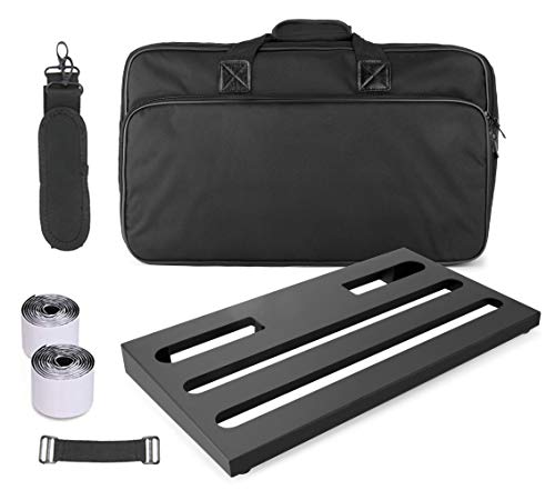 GOKKO AUDIO GKB-52 Guitar Effects Pedal Board case 22' x 12.6' Pedalboard With...