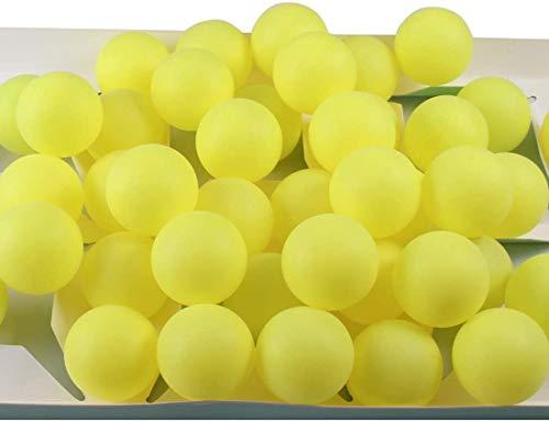 BIGTREE 50 * Cani Gatti Giocattolo Palline da Ping Pong Palline da Ping Pong Sfuse per Decorazioni Vernice Craft Lottery Beer Pong Feste Bomboniere Giochi con Acqua (Non Adatto per Uso Professionale)