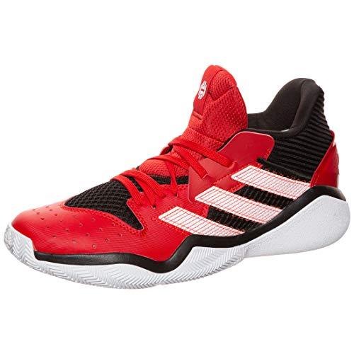 Adidas Harden Stepback, Zapatillas Deportivas Unisex Adulto, Core Black/Scarlet/FTWR White, 45 1/3 EU