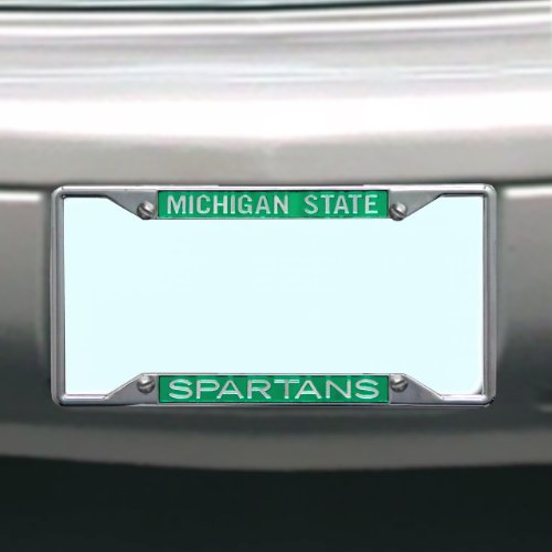 NCAA Michigan State Spartans License Plate Frame