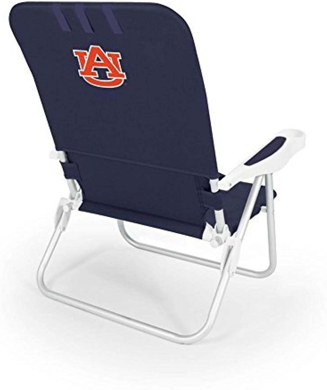 NCAA Auburn Tigers Monaco Folding Beach Chair by Picnic Time