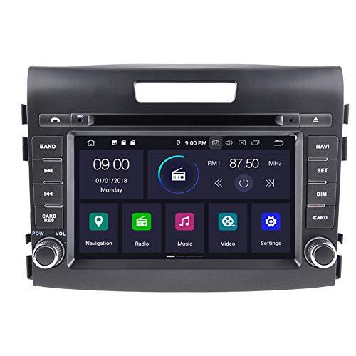 Autosion Android 10 radio 64 Go de mémoire RAM lecteur DVD de voiture GPS Navigation Autoradio stéréo Wifi pour Honda CRV 2012 2013 2014 2015 Bluetooth prise en charge Steeirng Wheel Control