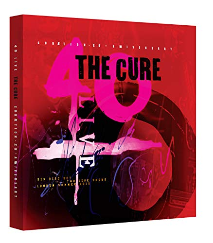 40 Live Curaetion 25 + Anniversary [2 Blu-ray/4 CD][Deluxe Box Set]