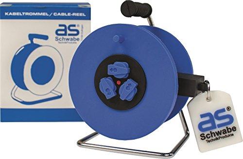 as - Schwabe 99458 Kabelhaspel 2 GB USB Flash Drive Memory Stick, grappig cadeau niet alleen voor elektriciens, blauw