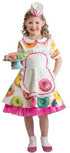 Princess Paradise Child's Donut Waitress Costume, Medium